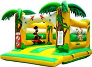 Hüpfburgen & Co Modell Dschungel