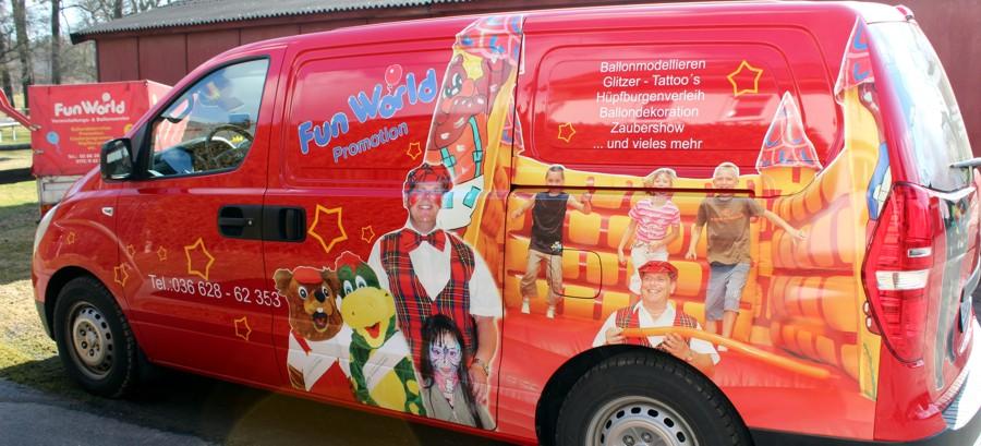 Jobs für Funworld Promotion in Zeulenroda und thüringen- und deutschlandweit