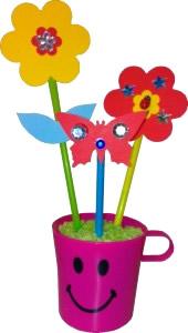Basteln Und Gestalten - hier Blumen